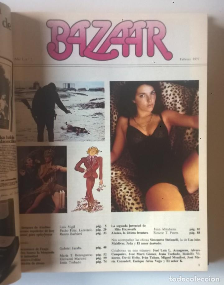 Revistas: REVISTAS BAZAAR ENCUADERNADAS (Nº1 AL 6) - AÑO 1977 - REVISTAS PARA ADULTOS - ANTIGUAS - Foto 21 - 257911390
