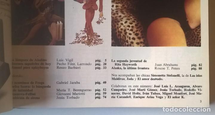Revistas: REVISTAS BAZAAR ENCUADERNADAS (Nº1 AL 6) - AÑO 1977 - REVISTAS PARA ADULTOS - ANTIGUAS - Foto 22 - 257911390