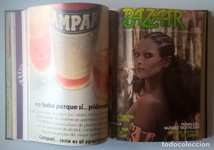 Revistas: REVISTAS BAZAAR ENCUADERNADAS (Nº1 AL 6) - AÑO 1977 - REVISTAS PARA ADULTOS - ANTIGUAS - Foto 23 - 257911390