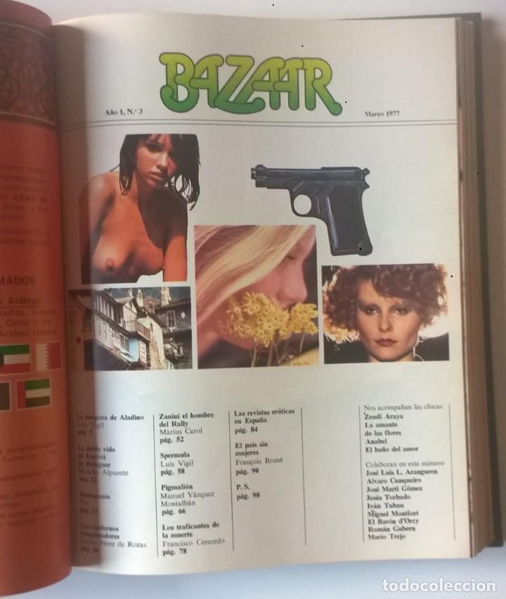 Revistas: REVISTAS BAZAAR ENCUADERNADAS (Nº1 AL 6) - AÑO 1977 - REVISTAS PARA ADULTOS - ANTIGUAS - Foto 24 - 257911390