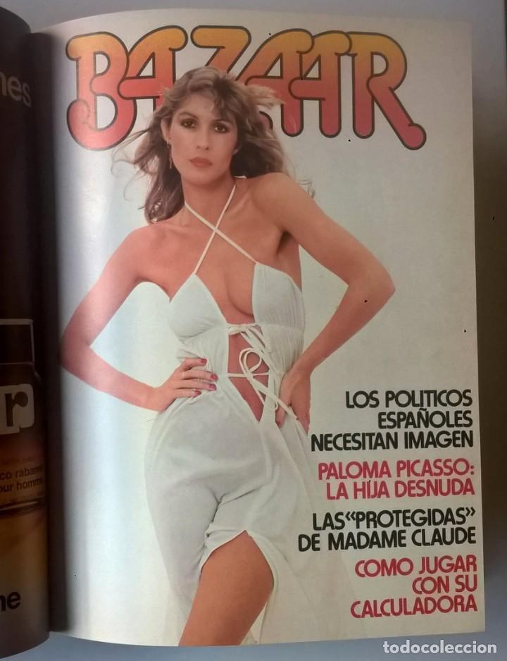 Revistas: REVISTAS BAZAAR ENCUADERNADAS (Nº1 AL 6) - AÑO 1977 - REVISTAS PARA ADULTOS - ANTIGUAS - Foto 26 - 257911390