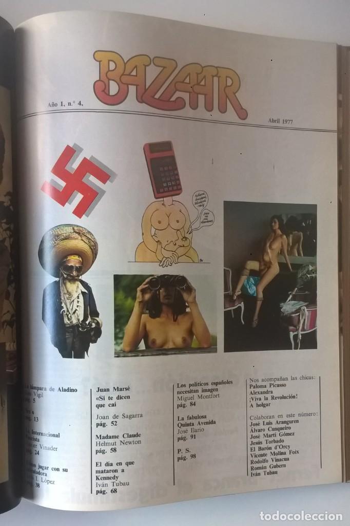 Revistas: REVISTAS BAZAAR ENCUADERNADAS (Nº1 AL 6) - AÑO 1977 - REVISTAS PARA ADULTOS - ANTIGUAS - Foto 27 - 257911390