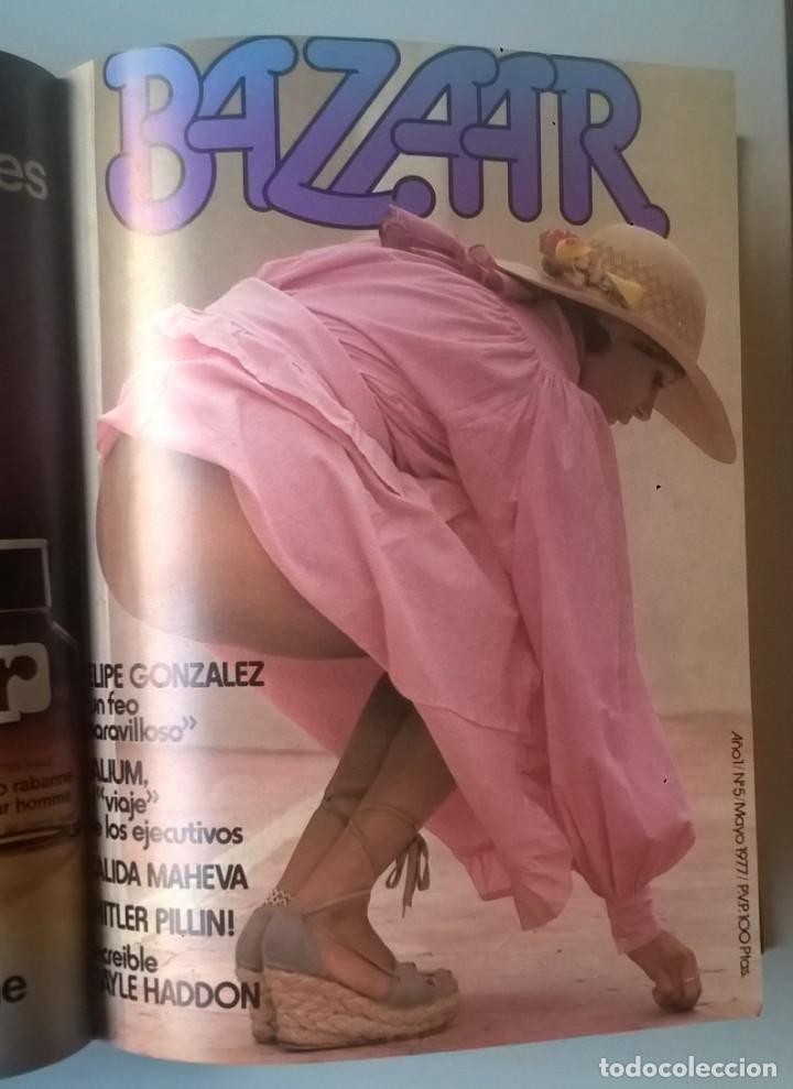 Revistas: REVISTAS BAZAAR ENCUADERNADAS (Nº1 AL 6) - AÑO 1977 - REVISTAS PARA ADULTOS - ANTIGUAS - Foto 29 - 257911390