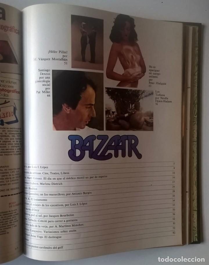 Revistas: REVISTAS BAZAAR ENCUADERNADAS (Nº1 AL 6) - AÑO 1977 - REVISTAS PARA ADULTOS - ANTIGUAS - Foto 30 - 257911390