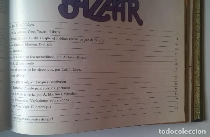 Revistas: REVISTAS BAZAAR ENCUADERNADAS (Nº1 AL 6) - AÑO 1977 - REVISTAS PARA ADULTOS - ANTIGUAS - Foto 31 - 257911390