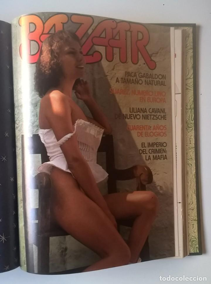 Revistas: REVISTAS BAZAAR ENCUADERNADAS (Nº1 AL 6) - AÑO 1977 - REVISTAS PARA ADULTOS - ANTIGUAS - Foto 32 - 257911390