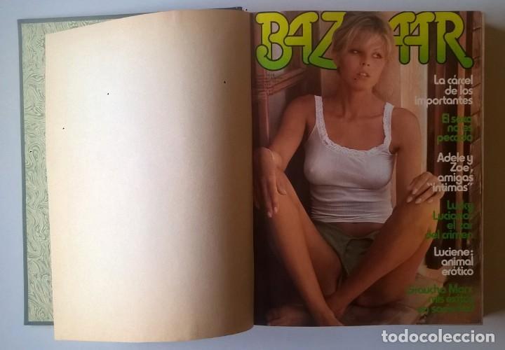 Revistas: REVISTAS BAZAAR ENCUADERNADAS (Nº7 AL 12) - AÑO 1977 - REVISTAS PARA ADULTOS - ANTIGUAS - Foto 14 - 257911970