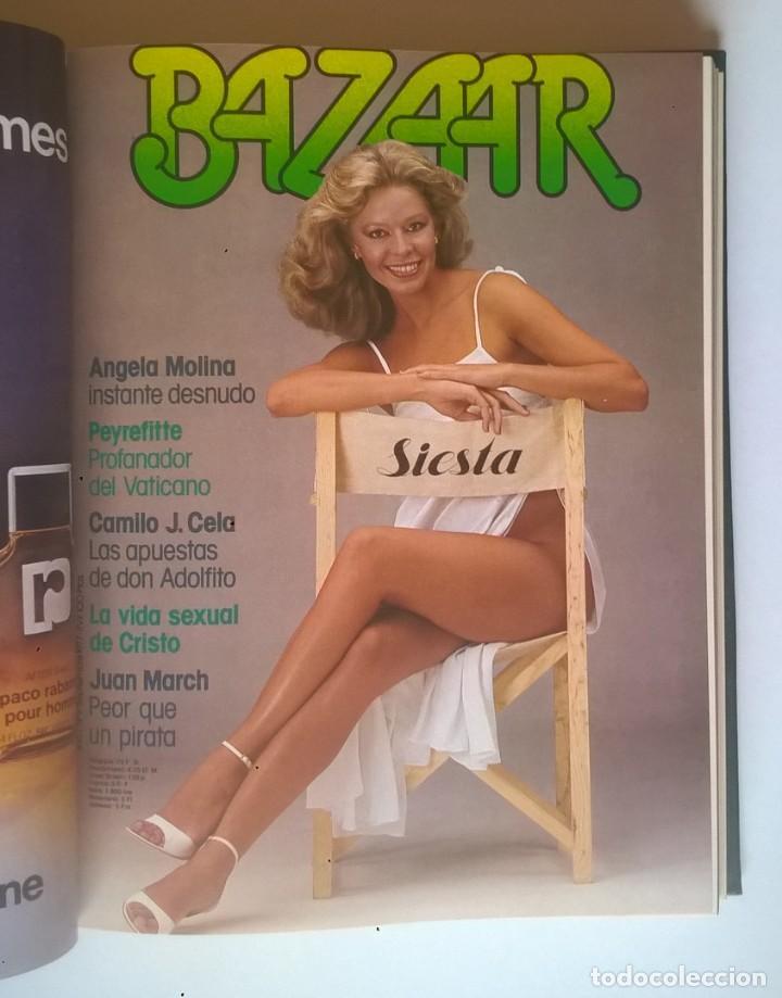Revistas: REVISTAS BAZAAR ENCUADERNADAS (Nº7 AL 12) - AÑO 1977 - REVISTAS PARA ADULTOS - ANTIGUAS - Foto 18 - 257911970