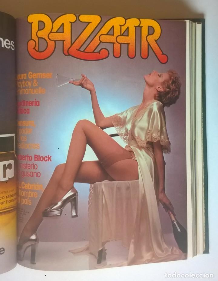 Revistas: REVISTAS BAZAAR ENCUADERNADAS (Nº7 AL 12) - AÑO 1977 - REVISTAS PARA ADULTOS - ANTIGUAS - Foto 20 - 257911970