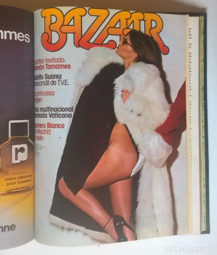 Revistas: REVISTAS BAZAAR ENCUADERNADAS (Nº7 AL 12) - AÑO 1977 - REVISTAS PARA ADULTOS - ANTIGUAS - Foto 24 - 257911970