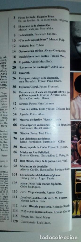 Revistas: REVISTAS BAZAAR ENCUADERNADAS (Nº19 AL 24) - AÑO 1978 - REVISTAS PARA ADULTOS - ANTIGUAS - Foto 22 - 257913010