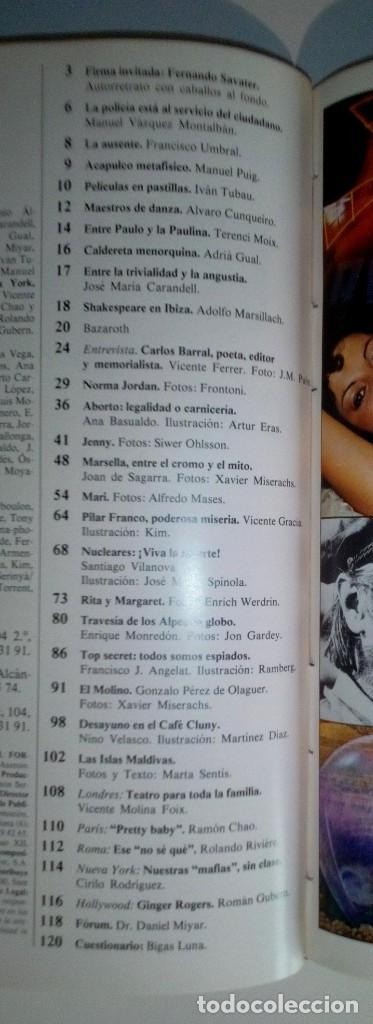 Revistas: REVISTAS BAZAAR ENCUADERNADAS (Nº19 AL 24) - AÑO 1978 - REVISTAS PARA ADULTOS - ANTIGUAS - Foto 31 - 257913010