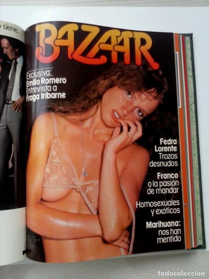 Revistas: REVISTAS BAZAAR ENCUADERNADAS (Nº19 AL 24) - AÑO 1978 - REVISTAS PARA ADULTOS - ANTIGUAS - Foto 32 - 257913010