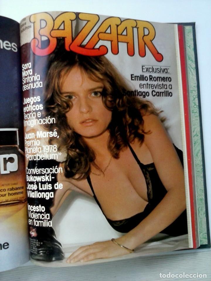 Revistas: REVISTAS BAZAAR ENCUADERNADAS (Nº19 AL 24) - AÑO 1978 - REVISTAS PARA ADULTOS - ANTIGUAS - Foto 35 - 257913010