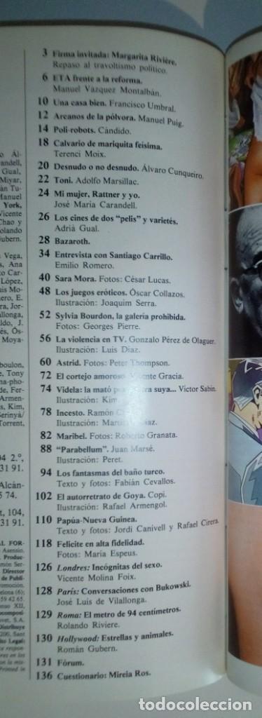 Revistas: REVISTAS BAZAAR ENCUADERNADAS (Nº19 AL 24) - AÑO 1978 - REVISTAS PARA ADULTOS - ANTIGUAS - Foto 37 - 257913010