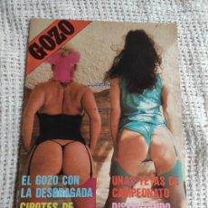 Magazines: GOZO Nº 2 REVISTA EROTICA DE LOS AÑOS 90. Lote 257951075