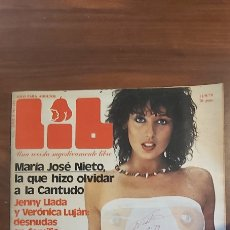 Revistas: REVISTA EROTICA LIB #MARIA JOSE NIETO,PEPE SANCHO,FRANK SINATRA,LUJAN,ETC...# Nº 151 ( AÑO 1979 ). Lote 258091340