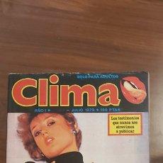 Revistas: CLIMA EXTRA JUNIO 1979 EROTICA. Lote 258756345