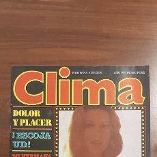 Revistas: REVISTA CLIMA # 130 / 1982 ~ SILVIA TORTOSA ~ SADO. Lote 258759245