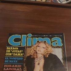 Revistas: CLIMA # 125 / 1981. Lote 258766635