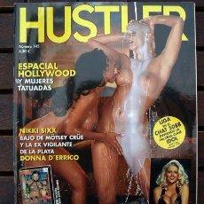Revistas: REVISTA HUSTLER Nº 145 / ANNA NICOLE SMITH, MUJERES TATUADAS, DONNA D'ERRICO, MICHAEL MADSEN. Lote 260376890