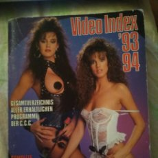 Revistas: VIDEO INDEX 93. 94,COLOR CLIMAX PRODUCTION. Lote 261861720