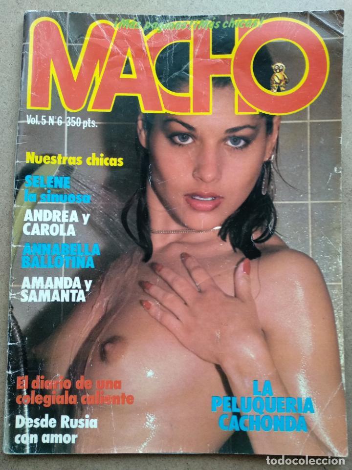REVISTA MACHO VOL. 5 Nº 6 (Coleccionismo para Adultos - Revistas)