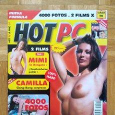 Revistas: REVISTA CATALOGO HOT PC 19. SOL ARENA Y SEXO. BENE. PAJA ESPAÑOLA. GUARRAS. ENCULADAS. VER. Lote 263035170