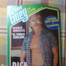 Revistas: VIDEO GUEY Nº 9 REVISTA GAY FOTONOVELA EROTICA DE CHICOS. Lote 293890113
