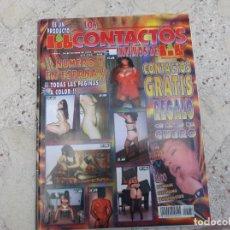 Revistas: LOS CONTACTOS INTIMOS DE LIB Nº 84, ESPAÑOLA, EROTICA SOLO PARA ADULTOS. Lote 263680715