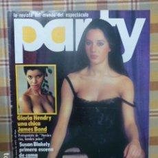 Revistas: REVISTA PARTY Nº 5 1977 GLORIA HENDRY SUSAN BLAKELY MARIA HOLGADO YOLANDA RIOS POUPEE LA ROUSE GAY. Lote 263723295