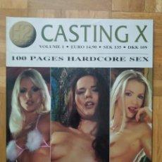 Revistas: REVISTA CASTING X Nº 1. MARI. ELLEN KATHY GEORGE VERONICA LUCIE & JANOS. Lote 264538499
