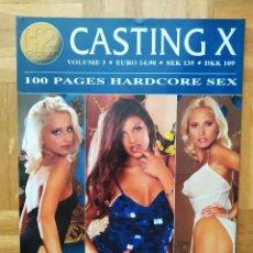 Revistas: REVISTA CASTING X Nº 3 ZUZANKA. SZABINA & RISCI. ANITA. JOANNA & ANITA. EURIDIKE & GYULA. EDINA. Lote 264541239