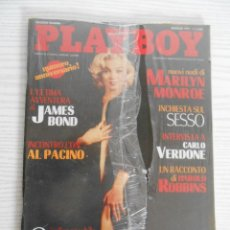 Revistas: PLAYBOY GENNAIO 1997-NUOVO SIGILLATO-NEW SEALED-MARILYN MONROE. Lote 267205939