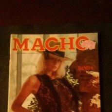 Revistas: MACHO Nº 14-SUZANNE MIZZI-XICU CABANYES-TAIJA RAE-HUMPHREY BOGART. Lote 267515554