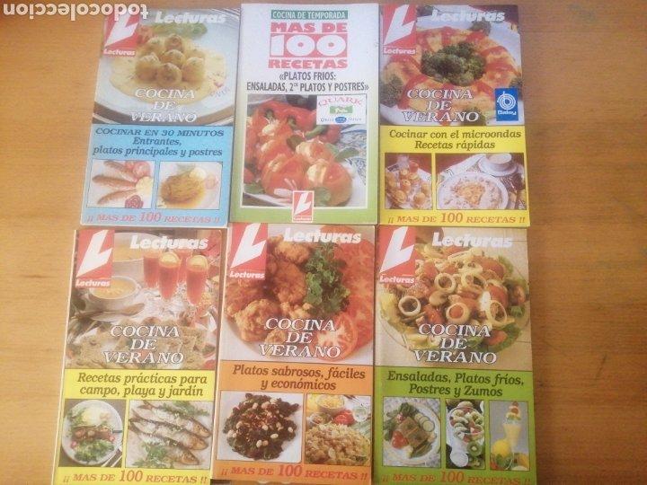 LOTE DE 6 REVISTAS LECTURAS, RECETAS (Coleccionismo para Adultos - Revistas)