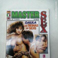 Revistas: MASTER SEX AÑO 1 Nº 3. LAS REINAS DEL SEXO. REVISTA SOLO PARA ADULTOS. 1998. Lote 268992509