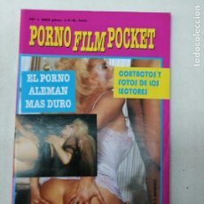 Revistas: PORNO FILM POCKET 1. EL PORNO ALEMAN MAS DURO. CONTACTOS Y FOTOS. KARIN SCHUBERT. SOLO PARA ADULTOS. Lote 268994229