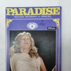 Revistas: REVISTA PARADISE N. 8. HIGH CLASS EROTOGRAPHY IN PERFECTION. PORNO. ADULTOS. Lote 269055448