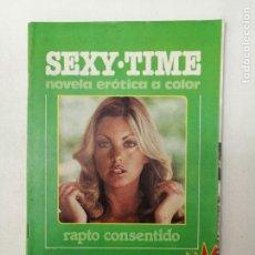 Revistas: SEXY TIME N. 3. NOVELA EROTICA A COLOR. RAPTO CONSENTIDO. PORNO. ADULTOS. 1984. Lote 269065208
