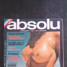 Revistas: ABSOLU # 16-NOVEMBRE 1975-HENRY MILLER-KATIA TCHENKO-QUEBEC-MONTRÉAL-FESTIVAL DE DEAUVILLE. Lote 269204048