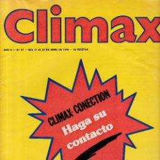 Revistas: CLIMAX - Nº 47 / ABRIL DE 1978. Lote 269208278