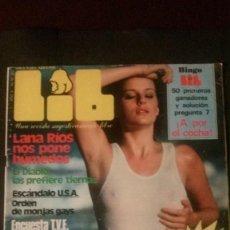 Revistas: LIB Nº 251-SUSANA ESTRADA-MARIA JOSÉ NIETO-VILANOVA I LA GELTRÚ. Lote 269209728