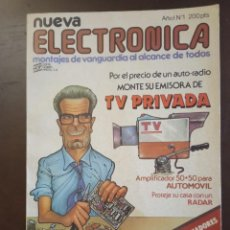 Revistas: REVISTAS DE NUEVA ELECTRONICA Nº 1 HASTA 234. Lote 269280638