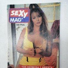 Revistas: SEXY MAG N. 28. PORNO. REVISTA PARA ADULTOS. Lote 269390098