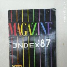Revistas: MAGAZINE INDEX 87. VTO MAGAZINES. CATÁLOGO REVISTAS ALEMANAS. PORNO. REVISTA PARA ADULTOS. Lote 269391248