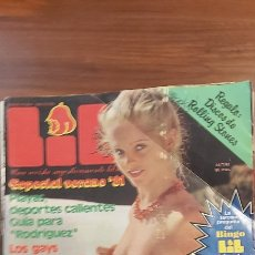 Revistas: LIB Nº 247-SUSANA ESTRADA-PALOMA SAN BASILIO-JENNY LLADA-MICHAEL CAINE-MISS MUNDO. Lote 269610548