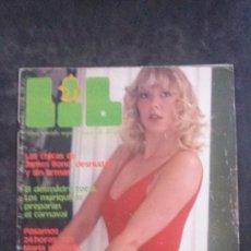 Revistas: LIB 67-ANNE MAGLE-JAMES BOND-ANNA NOBLE-BIBI ANDERSEN-EMMANUELLE-BEATRIZ ESCUDERO. Lote 269710148