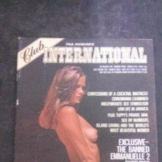 Revistas: CLUB INTERNATIONAL 5/3-1976-FIA MORROW. Lote 269773833