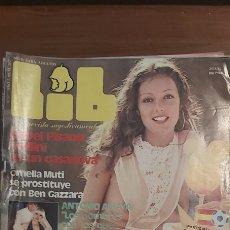Revistas: REVISTA EROTICA LIB 292 #ANTONIO AMAYA,ISABEL PISANO,ORNELLA MUTI,FEDRA,ETC... ( AÑO 1982 ). Lote 270000843